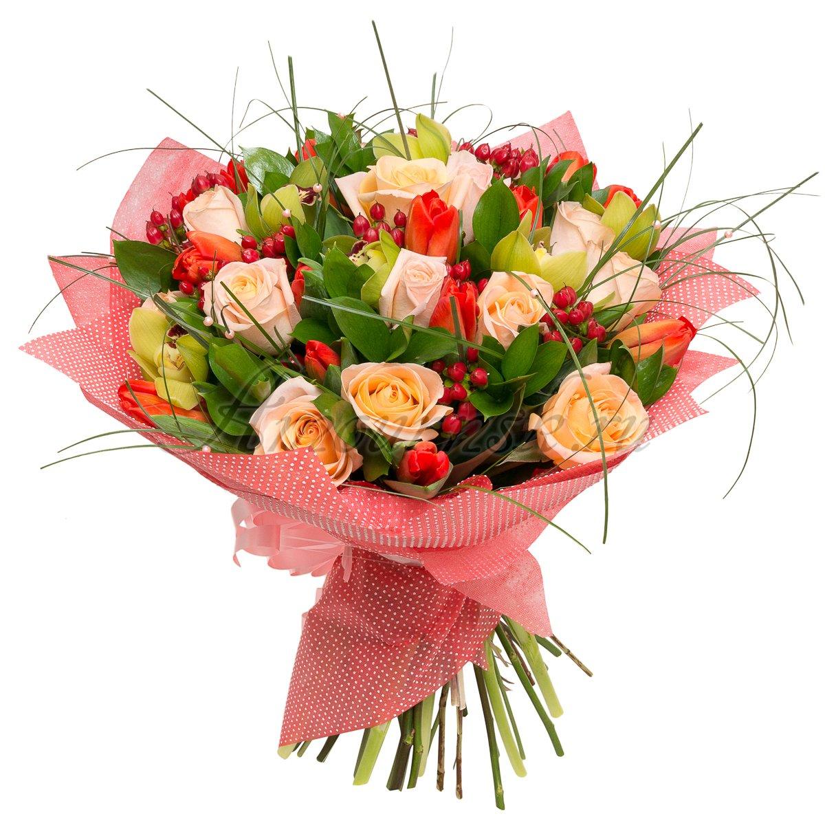 Доставка цветов, доставка букетов круглосуточно недорого
