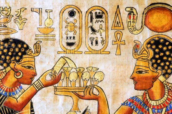 Древнеегипетская гравюра